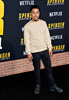 "LOS ANGELES, CA: 27, 2020: Jonathan Chavez at the world premiere of ""Spenser Confidential"" at the Regency Village Theatre.<br /> Picture: Paul Smith/Featureflash"