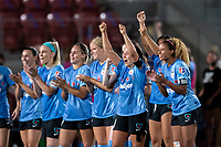 , UT - : Chicago Red Stars celebrate a penalty kick during a game between  at  on ,  in , Utah.