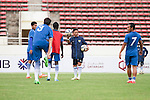 Player during their training season prior to the Lao FC vs Persib Bandung as part of the 2015 AFC Cup 2015 Group H match on April 14, 2015 at the National Sports Complex Stadium in Yangon, Laos. Photo by Visittiphong / World Sport Group
