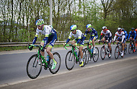 Team Orica-GreenEDGE controlling the peloton in order to maximise Michael Matthews' (AUS/Orica-GreenEDGE) chances of winning<br /> <br /> 56th De Brabantse Pijl - La Flèche Brabançonne (1.HC)