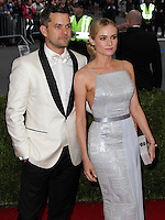 "NEW YORK CITY, NY, USA - MAY 05: Joshua Jackson, Diane Kruger at the ""Charles James: Beyond Fashion"" Costume Institute Gala held at the Metropolitan Museum of Art on May 5, 2014 in New York City, New York, United States. (Photo by Xavier Collin/Celebrity Monitor)"
