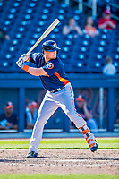1 March 2017: Houston Astros infielder J.D. Davis in Spring Training action against the Miami Marlins at the Ballpark of the Palm Beaches in West Palm Beach, Florida. The Marlins defeated the Astros 9-5 in Grapefruit League play. Mandatory Credit: Ed Wolfstein Photo *** RAW (NEF) Image File Available ***