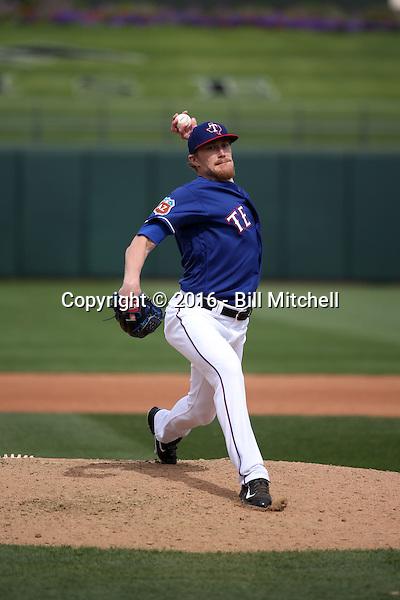 Jake Diekman - Texas Rangers 2016 spring training (Bill Mitchell)