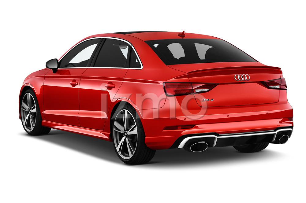 Car pictures of rear three quarter view of 2019 Audi RS-3 - 4 Door Sedan Angular Rear