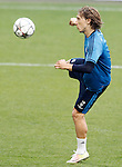 Real Madrid's Luka Modric during Champions League 2015/2016 training session. May 27,2016. (ALTERPHOTOS/Acero)
