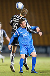 St Johnstone v St Mirren....22.01.11  .Chris Millar and Jure Travner.Picture by Graeme Hart..Copyright Perthshire Picture Agency.Tel: 01738 623350  Mobile: 07990 594431