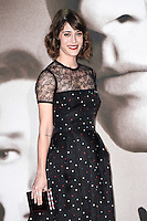 "Lizzy Caplan<br /> at the ""Allied"" UK premiere, Odeon Leicester Square, London.<br /> <br /> <br /> ©Ash Knotek  D3202  21/11/2016"