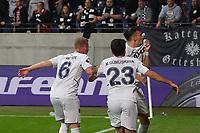 Zu früher Torjubel Mergim Berisha (Fenerbahce Istanbul) - Frankfurt 16.09.2021: Eintracht Frankfurt vs. Fenerbahce Istanbul, Deutsche Bank Park, 1. Spieltag UEFA Europa League