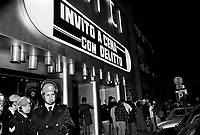 """- Milano, novembre 1976 - campagna dei """"Circoli Proletari Giovanili"""" per l'autoriduzione del biglietto nei cinema e teatri<br /> <br /> - Milan, November 1976 - campaign of the """"Proletarian Youth Circles"""" for the ticket autoredox in cinemas and theaters"""