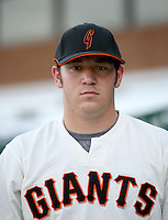 Jason Jarvis / AZL Giants..Photo by:  Bill Mitchell/Four Seam Images