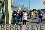 The Causeway Spectators wait for the gates to open before the Kerry County Senior Hurling Championship Final match between Kilmoyley and Causeway at Austin Stack Park in Tralee