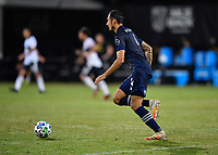 LAKE BUENA VISTA, FL - JULY 26: Roberto Puncec of Sporting KC dribbles the ball during a game between Vancouver Whitecaps and Sporting Kansas City at ESPN Wide World of Sports on July 26, 2020 in Lake Buena Vista, Florida.