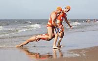 Nederland   Noordwijk 2016. Van 1 tot en met 18 september worden in Eindhoven en Noordwijk de Wereldkampioenschappen Lifesaving georganiseerd. Er staan zeven verschillende toernooien op het programma voor landenteams, clubteams en masters. Nederlandse deelnemers. Foto Berlinda van Dam / Hollandse Hoogte