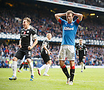 Andy Halliday dejected after Martyn Waghorn's penalty miss