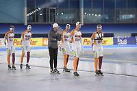 SCHAATSSPORT: HEERENVEEN: IJsstadion Thialf, 18-06-2018, Topsporttraining Zomerijs, ©foto Martin de Jong