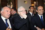 PIPPO MARRA CON FRANCESCO COSSIGA E ALESSANDRO RUBEN<br /> CELEBRAZIONE DEI 60 ANNI DELLO STATO D'ISRAELE TEATRO DELL'OPERA ROMA 2008