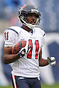 ANDRE DAVIS, of the Houston Texans in action during the Texans game against the Tennessee Titans on December 2, 2007 in Nashville, Tennessee...TITANS  win 28-20..SportPics