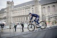 Otto Vergaerde (BEL/Alpecin-Fenix)<br /> <br /> 107th Liège-Bastogne-Liège 2021 (1.UWT)<br /> 1 day race from Liège to Liège (259km)<br /> <br /> ©kramon