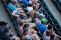 Fans enjoy the game between the Hickory Crawdads and the Winston-Salem Dash at Truist Stadium on July 10, 2021 in Winston-Salem, North Carolina. (Brian Westerholt/Four Seam Images)