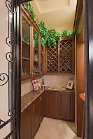 Stock photo of wine room