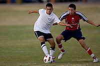 2010 US Soccer Development Academy Winter Showcase U15/16 South Central Premier vs FC Milwaukee at Reach 11 Soccer Complex in Phoenix, Arizona in December of  2010.