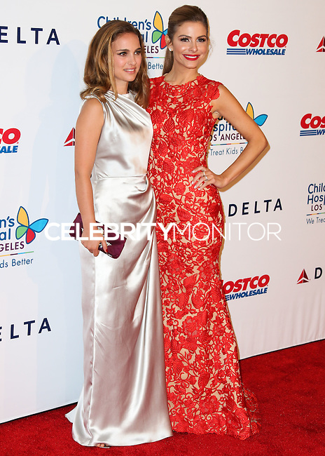 LOS ANGELES, CA, USA - OCTOBER 11: Natalie Portman, Maria Menounos arrive at the Children's Hospital Los Angeles' Gala Noche De Ninos 2014 held at the L.A. Live Event Deck on October 11, 2014 in Los Angeles, California, United States. (Photo by Xavier Collin/Celebrity Monitor)