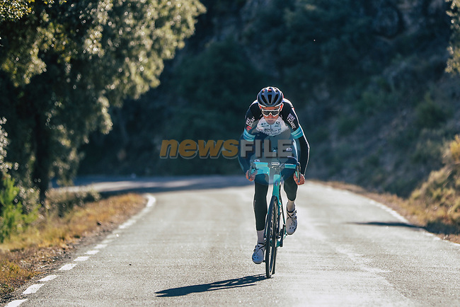 Jack Bauer (NZL) Team BikeExchange men's squad during their recent training camp in Calpe, Spain. 18th January 2021.<br /> Picture: Sara Cavallini/GreenEDGE Cycling | Cyclefile<br /> <br /> All photos usage must carry mandatory copyright credit (© Cyclefile | Sara Cavallini/GreenEDGE Cycling)