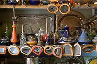 Tripoli, Libya - Antique Metal Ware, Glassware, Mirrors, Tripoli Medina Copper Market