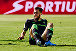 Borja Iglesias of Betis Balompie during La Liga match between CD Leganes and Real Betis Balompie at Butarque Stadium in Leganes, Spain. February 16, 2020. (ALTERPHOTOS/A. Perez Meca)