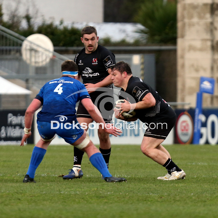 15 January 2021; Ross Kane during the A Interprovincial match between Ulster and Leinster at Kingspan Stadium in Belfast. Photo by John Dickson/Dicksondigital