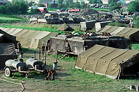 1990 FILE PHOTO (Exact date unknown):  OKA Crisis - army camp at st-Benoit<br /> <br /> <br /> <br /> <br /> PHOTO :  Agence Quebec Presse - <br /> Robert Galbraith