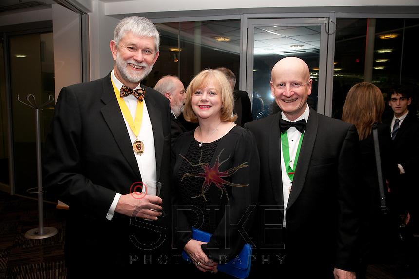 Deputy Vice President Richard Nelson, Helen and Paul Balen