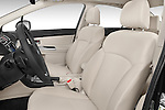 Front seat view of a 2015 Subaru Impreza premium 4 Door Sedan front seat car photos