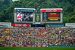 Atmosphere during the Cathay Pacific / HSBC Hong Kong Sevens at the Hong Kong Stadium on 29 March 2014 in Hong Kong, China. Photo by Xaume Olleros / Power Sport Images