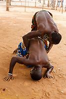 celebrazione voodoo nel villaggio Kuago in Togo