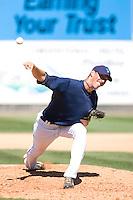 July 25, 2010: Everett AquaSox pitcher Forrest Snow (30) during a Northwest League game against the Salem-Keizer Volcanoes at Everett Memorial Stadium in Everett, Washington.