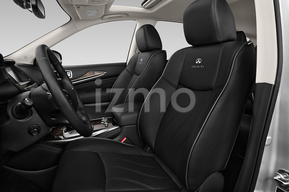 Front seat view of a 2014 Infiniti QX60 Hybrid 5 Door SUV Front Seat car photos