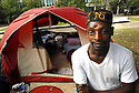 Hardin Tutt, who is homeless and camping in front of New Orleans' City Hall, plans to move into an apartment with a roommate, New Orleans, Wednesday, Nov. 21, 2007..(AP Photo/Cheryl Gerber)