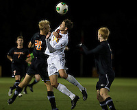 The Winthrop University Eagles lose 2-1 in a Big South contest against the Campbell University Camels.  Adriano Negri (17), Bryce Miller (20)