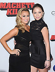 Alexa Vega and Makenzie Vega  attends The OpenRoad L.A. Premiere of Machete Kills hel dat The Regal Cinemas L.A. Live in Los Angeles, California on October 02,2012                                                                               © 2013 DVS / Hollywood Press Agency