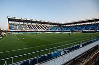 SAN JOSE, CA - SEPTEMBER 05: Earthquakes Stadium during a game between Colorado Rapids and San Jose Earthquakes at Earthquakes Stadium on September 05, 2020 in San Jose, California.