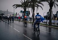 off to a cold/rainy start<br /> <br /> 76th Paris-Nice 2018<br /> Stage 7: Nice > Valdeblore La Colmiane (175km)