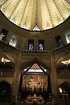 Israel, Lower Galilee, the lily shaped dome of the Church of the Annunciation in Nazareth