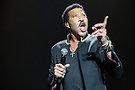 © Joel Goodman - 07973 332324 . 28/06/2016. Manchester , UK . LIONEL RICHIE performs live on stage at the Manchester Arena . Photo credit : Joel Goodman