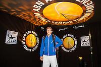 Rotterdam, The Netherlands, Februari 8, 2016,  ABNAMROWTT, Denis Istomin (UZB)<br /> Photo: Tennisimages/Henk Koster