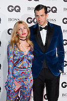 (L-R) Josephine de La Baume and Mark Ronson  arrive for the GQ Men Of The Year Awards 2016 at the Tate Modern, London