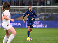 French Wendie Renard (3) pictured during the Womens International Friendly game between France and Switzerland at Stade Saint-Symphorien in Longeville-lès-Metz, France.