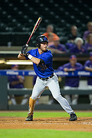Jimmy Herron (30) of the Duke Blue Devils at bat against the Clemson Tigers in Game Three of the 2017 ACC Baseball Championship at Louisville Slugger Field on May 23, 2017 in Louisville, Kentucky.  The Blue Devils defeated the Tigers 6-3.. (Brian Westerholt/Four Seam Images)