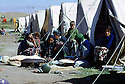 Iran 1974.Les refugies kurdes dans le camp de Ziweh.Iran 1974.In the camp of Ziweh, the Kurdish refugees.