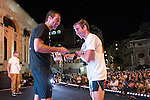 Awards Ceremony at Bloomberg Square Mile Relay in London, United Kingdom. Photo by Ian Roman / Power Sport Images